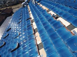 太陽光パネル設置工程3