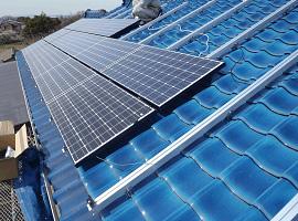 太陽光パネル設置工程6